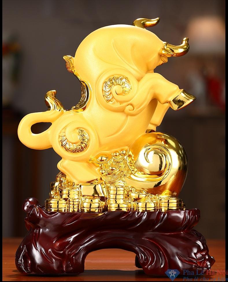linh vat 2.2 - Linh vật trâu vàng 2021 số 3