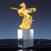 Ngựa phong thủy mạ vàng 2