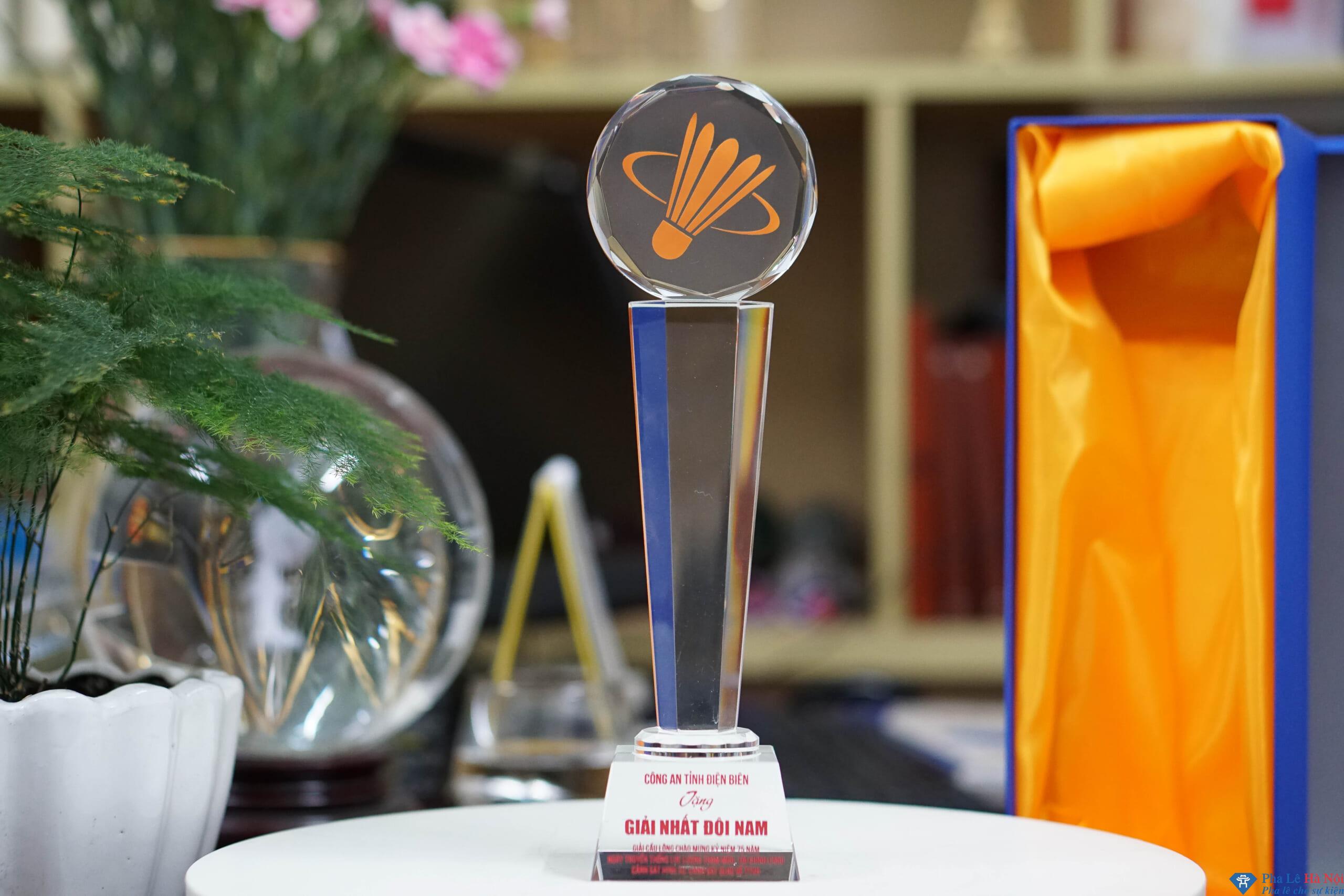 DSC01209 scaled - Cup pha lê thể thao Công An Tỉnh Điện Biên