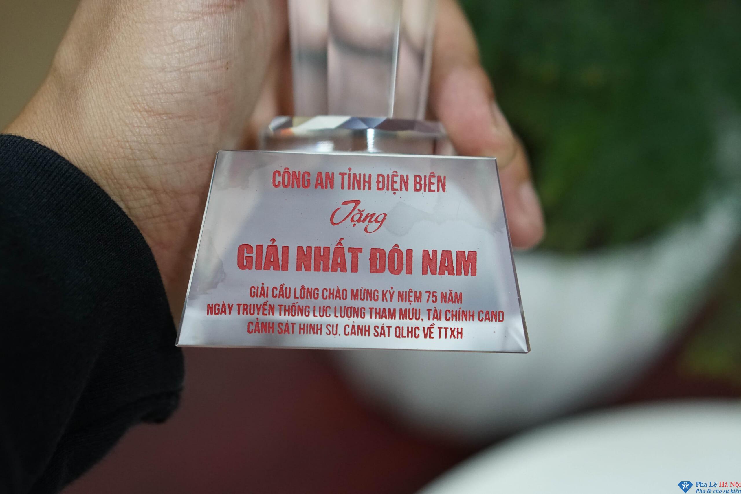 DSC01211 scaled - Cup pha lê thể thao Công An Tỉnh Điện Biên